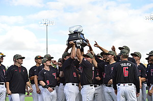 Texas Tech Baseball Celebrates 2016 Big 12 Conference Regular Season Title