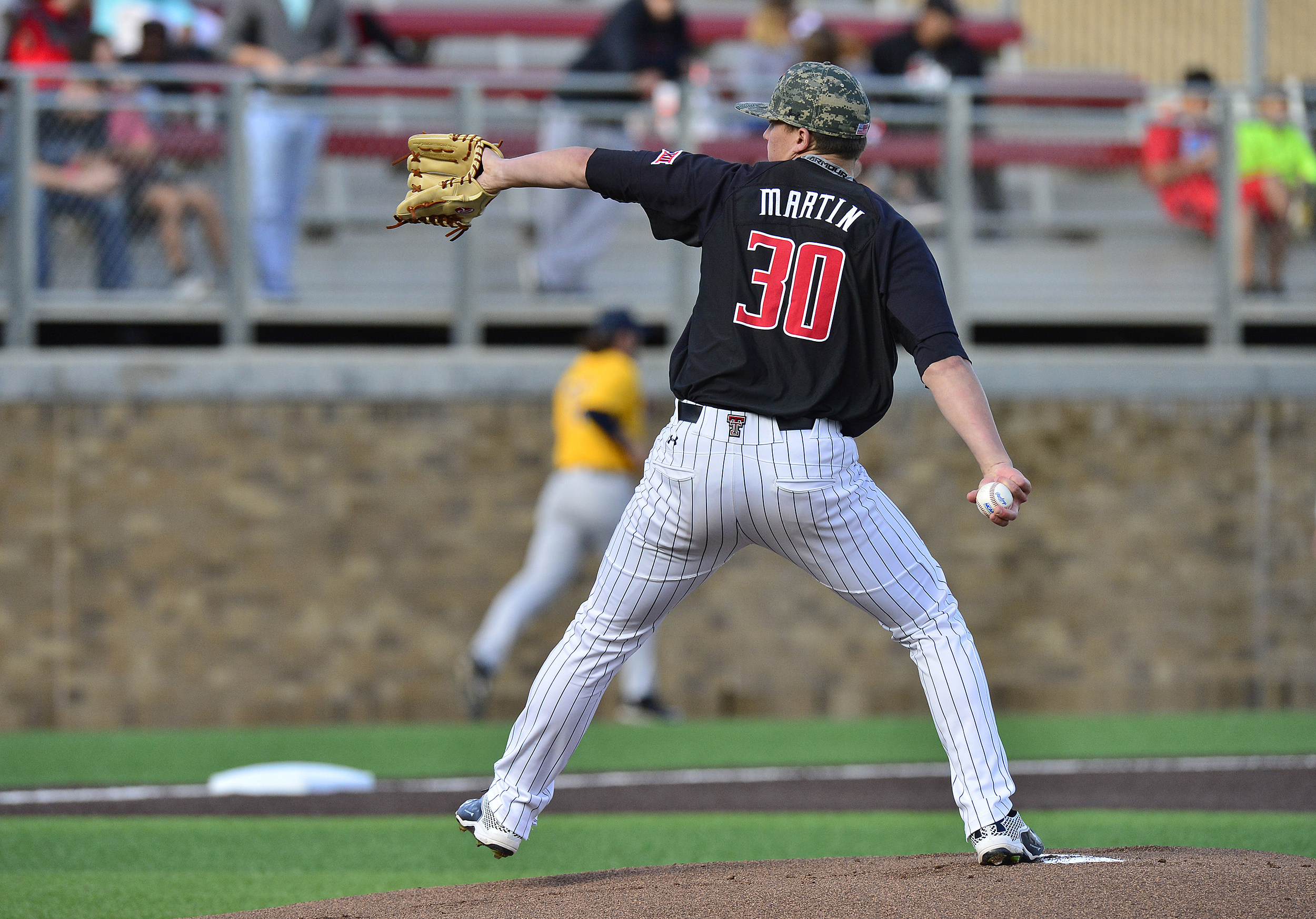 Davis Martin - Texas Tech Baseball vs West Virginia- 2016