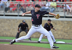 Davis Martin - Texas Tech baseball defeats Fairfield