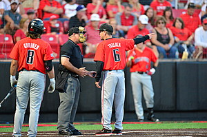 Texas Tech Baseball vs New Mexico- NCAA Regional- 060416