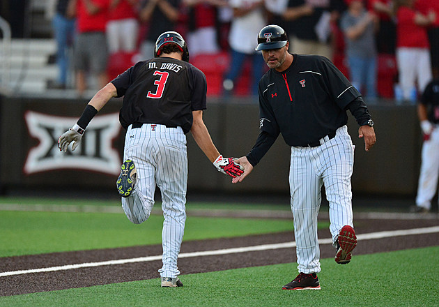 Michael Davis - Texas Tech Baseball vs East Carolina - Super Regional