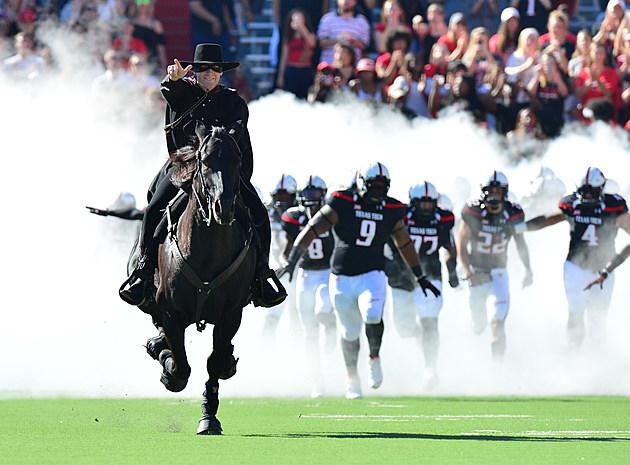 Masked Rider- Texas Tech Football vs West Virginia- 2016