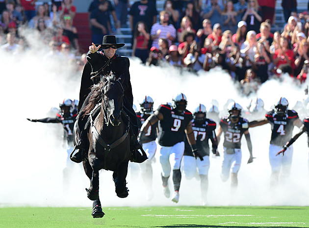Masked Rider- Texas Tech Football vs West Virginia- 2016