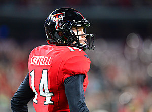 Dylan Cantrell- Texas Tech Football vs Baylor- 2016