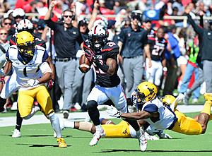 Keke Coutee- Texas Tech Football vs West Virginia 2016