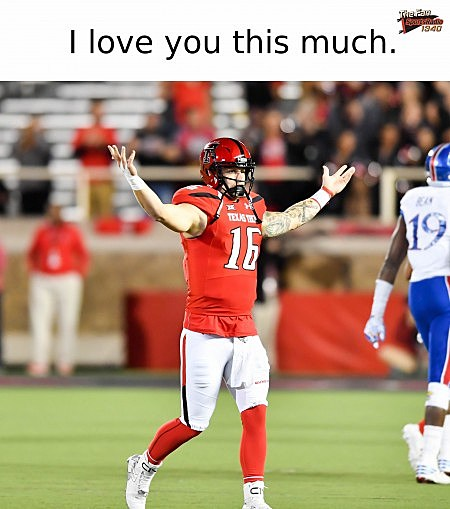 Texas Tech Valentine's Day cards